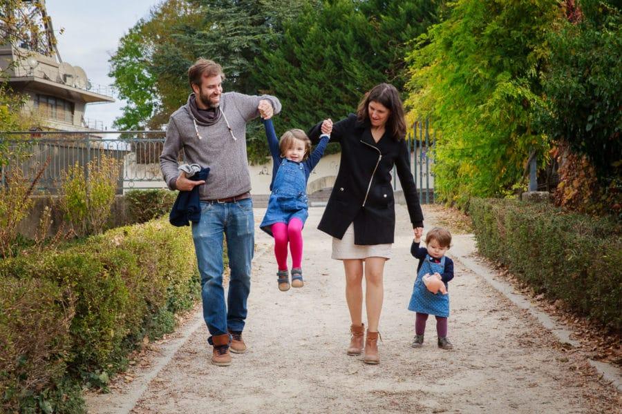 Shooting photo famille en extérieur